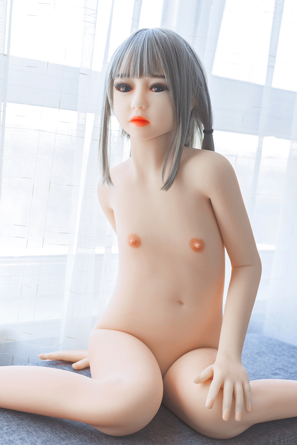2019 New Style 128cm flat  Breast Sex Toys Pussy Doll Silicone Doll Realistic Adult Sex