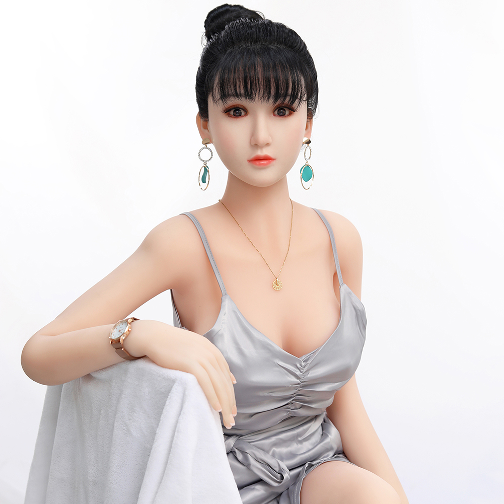 Free shipping 2021 158cm hair implant sex young sex dolls at siluomei original mold