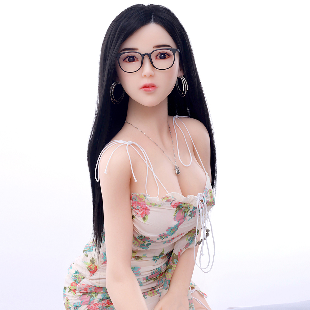 Free ship 164cm  2020 New products arrive full silicone body hair implant sex doll