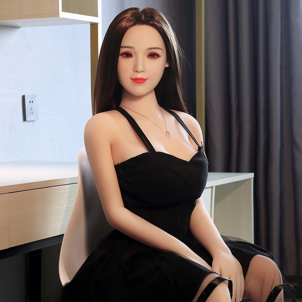 Free ship 158cm  TPE Silicone head sex adult doll for man