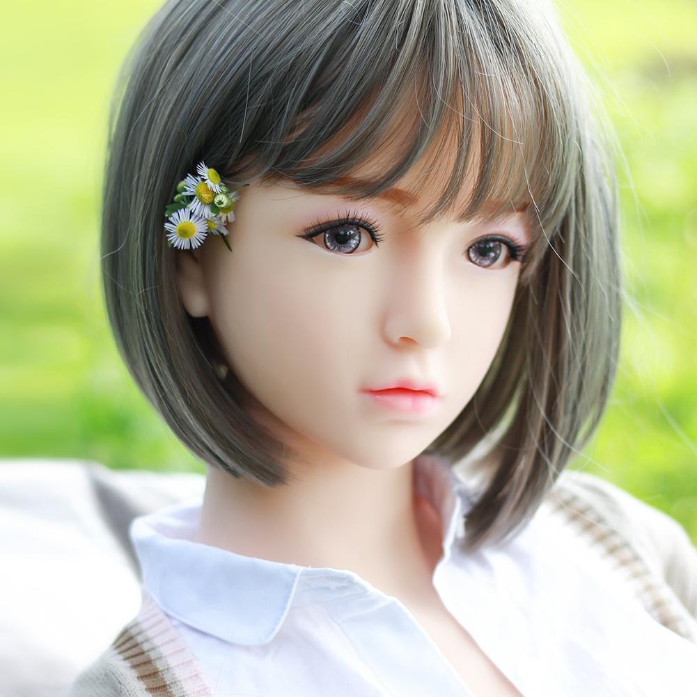 free ship 140cm loli mini sex doll Newest Fat Body Silicone Sex Doll