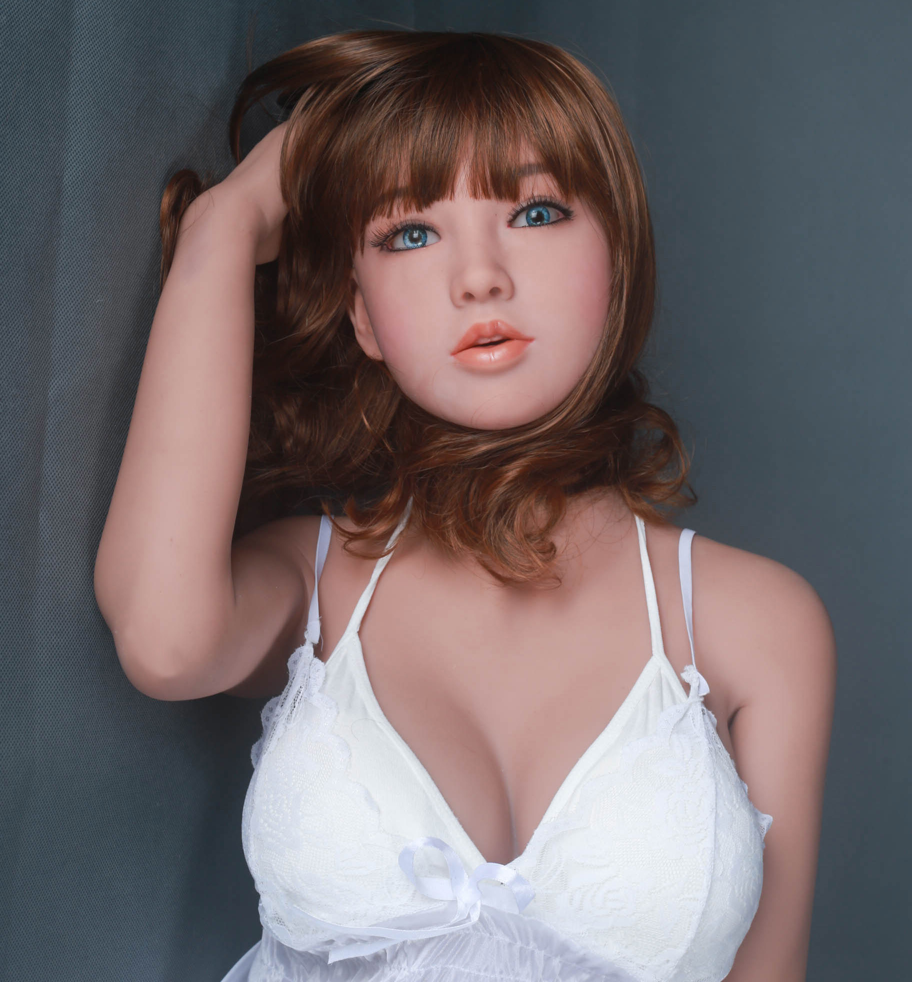Free ship 148SLMDOLL Sex Doll Unique design Real Life Size Realistic Skin