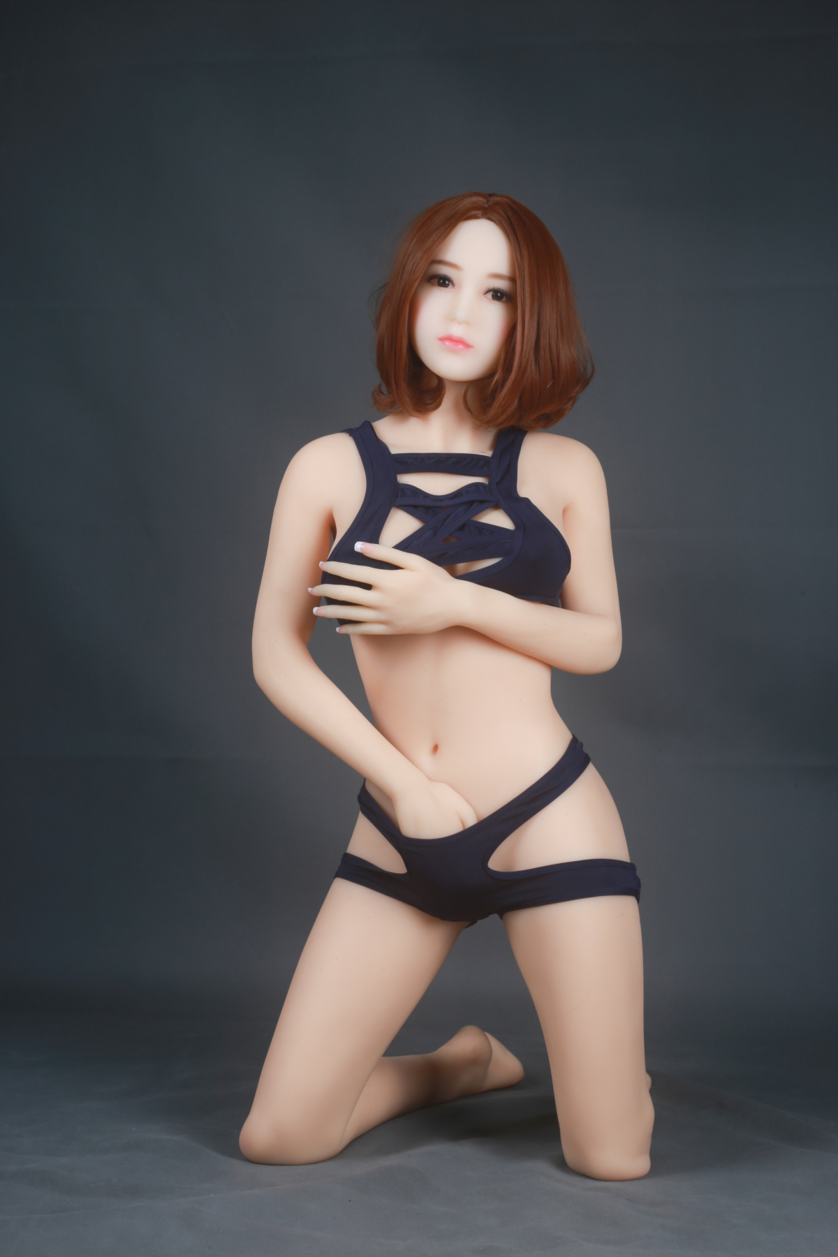 Free ship Drop ship Height 148cm lovely silicone sex doll for men