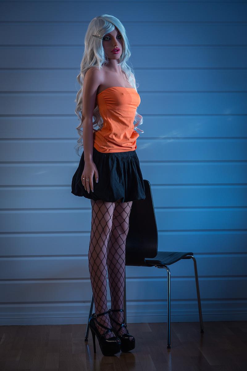 Free ship 155cm Slim Waist Full Lifelike Hot female Latest Real sex women doll
